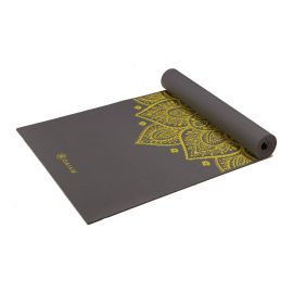 Gaiam Yoga Mat - Premium 6mm Print Extra Thick Exercise  amp  Fitness Mat for All Types of Yoga  Pilates  amp  Floor Exercises  68 quot  x 24 quot  x 6mm Thick at Amazon