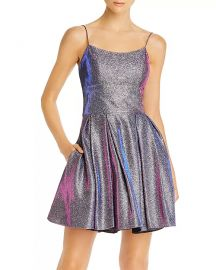 Galaxy Glitter Cocktail Dress at Bloomingdales