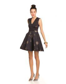 Galaxy print dress at Cynthia Rowley