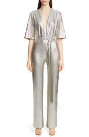 Galvan Metallic Galaxy Jumpsuit   Nordstrom at Nordstrom