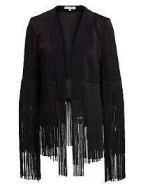 Galvan - Cortado Fringe Jacket at Saks Fifth Avenue