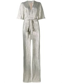 Galvan Galaxy Metallic Jumpsuit - Farfetch at Farfetch