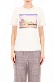 Ganni Boss Lady T-Shirt at Italist