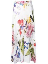 Ganni Floral Midi Skirt - Farfetch at Farfetch