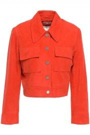 Ganni Salvia Jacket at The Outnet