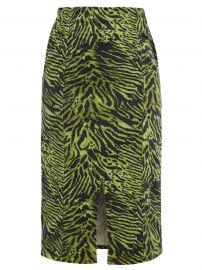 Ganni Tiger Skirt at Matches