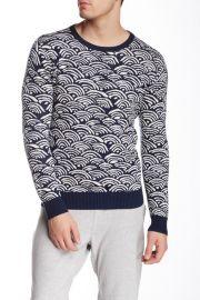 Gant Rugger Wave Jacquard Sweater at Nordstrom Rack