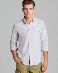 Gant by Michael Bastian The MB Oxford Dot Sport Shirt - Slim Fit at Bloomingdales