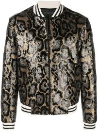 Garcons  Infideles Collins Sequin Leopard Bomber Jacket - Farfetch at Farfetch