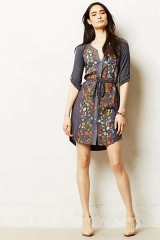 Gathered Vines Tunic at Anthropologie