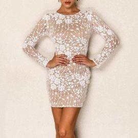 Gemma Mini Long Sleeve Dress at Sonja