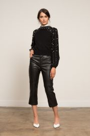 Gemma Pearl Sweater at Lucy Paris