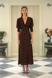 Gemma Vintage Rose Dress at Rixo