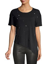 Generation Love - Ava Embellished Tie-Front Tee at Saks Off 5th