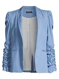 Generation Love - Juniper Ruched Sleeve Blazer at Saks Fifth Avenue