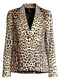 Generation Love - Sasha Leopard Print Blazer at Saks Fifth Avenue