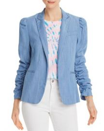 Generation Love Juniper Puff-Sleeve Chambray Blazer  Women - Bloomingdale s at Bloomingdales
