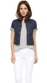 Genetic Los Angeles Blondie Short Sleeve Denim Jacket at Shopbop