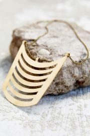 Geo Bib Pendant Necklace by Seaworthy at Urban Outfitters