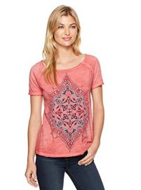 Geo Floral Tee by Lucky Brand at Amazon