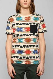 Geo Stripe Tee by BDG at Urban Outfitters