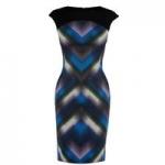Geo dot print dress by Karen Millen at House of Fraser