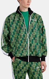 Geometric Jacquard-Knit Track Jacket at Barneys