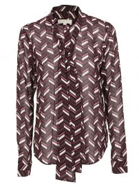 Geometric Print Blouse by Michael Kors at Italist
