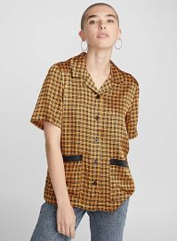 Geometric Print Shirt at Stussy