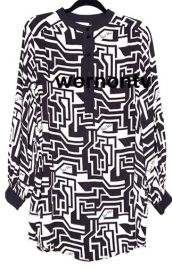 Geometric Print Tunic by H&M at H&M