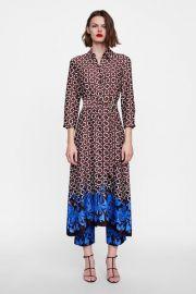 Geometric Print Tunic by Zara at Zara