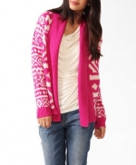 Geometric print cardigan from Forever 21 at Forever 21
