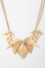 Geometry class necklace from Urban Outfitters at Urban Outfitters