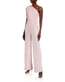 Georgia Sequin Jumpsuit by Jay Godfrey at Neiman Marcus
