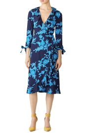 Geranium Floral Wrap Dress by Draper James at Rent The Runway