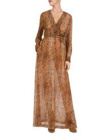 Gerard Darel Dayana Leopard-Print Maxi Dress Women - Bloomingdale s at Bloomingdales
