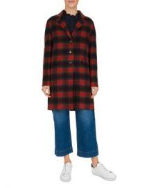 Gerard Darel Penelope Plaid Wool-Blend Coat Women - Bloomingdale s at Bloomingdales