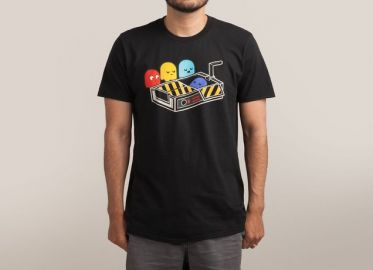 Ghost Busted Mens T-shirt at Threadless