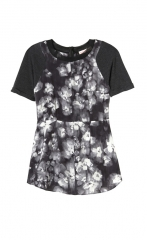 Ghost Flower Top at Rebecca Taylor
