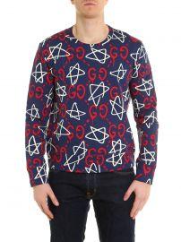 Ghost Star Sweatshirt by Gucci at Ikrix