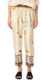 Giada Forte Silk Senorita Pants at Shopbop