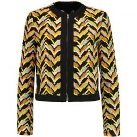Giambattista Valli Jacquard Chevron Jacket at Mytheresa