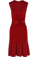 Giambattista Valli Red Wool Dress at The Outnet