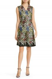 Giambattista Valli Sequin  amp  Floral Embroidered A-Line Dress   Nordstrom at Nordstrom