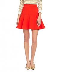 f820796b4 WornOnTV: Jess's blue half-sleeve top and red skirt on New Girl ...