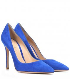 Gianvito 105 suede pumps at Mytheresa