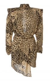 Gilded Print Dress by Dundas at Moda Operandi