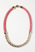 Gilt Rope Necklace at Anthropologie