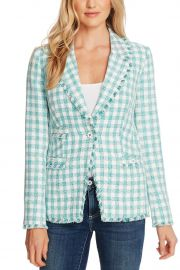 Gingham Tweed Jacket by CeCe by Cynthia Steffe at Nordstrom Rack