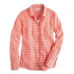 Gingham shirt at Jcrew at J. Crew